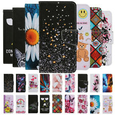 For iPhone SE 2020 11 Pro XS XR X 8+ Painted Leather Wallet Flip Card Case Cover