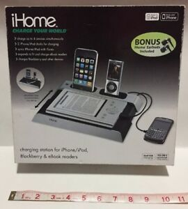 iHome Charge Your World Charging Station for iPhone/iPod, Blackberry & eReaders