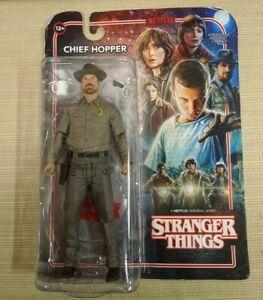 "McFarlane Toys Stranger Things Chief Hopper 7"" Action Figure 2017 Netflix"