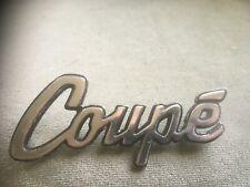 Classic Morris Marina Coupe Badge Genuine BL 1970s Wall Art