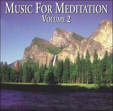 Various Artists : Music for Meditation, Vol. 2 CD