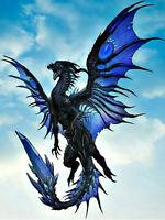 Full drill Diamond Painting Blue Pterosaurs Animal Home Decor Handicraft 6416X