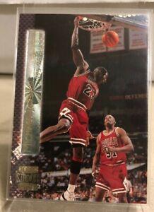 Michael Jordan 1995-96 Topps Stadium Club. MJ. GOAT.HOF.