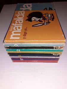Collection  12 Mafalda En Espagnol Lumen Annee 80