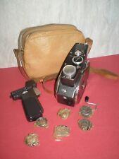 "USSR vintage 1966 year camera ""Quarz M"" Soviet made Standard 8mm, movie camera"
