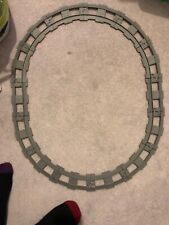 14 pieces of Lego Duplo Vintage  Grey Train Track 2 straight 12curved