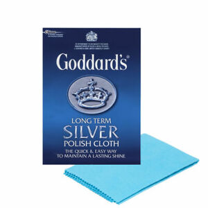 Goddards Silver Jewellery Polish/Cloth Cleaner Clean Silver Dip Protect Shine