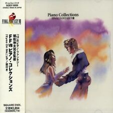 PIANO COLLECTIONS FINAL FANTASY VIII Soundtrack CD Free Shipping NEW