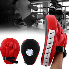PU Leather Boxing Kick Hand Target Punch Pad Glove For MMA Muay Thai Training