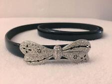 Broche Mariposa Diamante Cinturón con Gancho-hasta 93cm