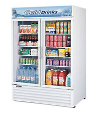 Turbo Air 45.97 Cu.Ft Refrigerated Merchandiser with 2 Glass Doors Tgm-50Rs