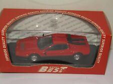 FERRARI 512 BB 1976 rouge/noire MODEL BEST 1/43