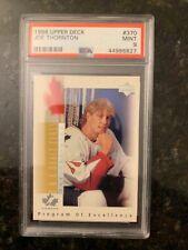 1996 Upper Deck Hockey #370 JOE THORNTON ROOKIE.......PSA 9 MINT!