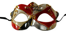 New Arrival Musical Notes Masquerade Mask Red