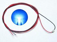 S985 - 10-pc SMD LED 0805 bleu avec câblage Micro-luminaire prêt Soudé