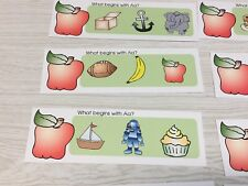 Phonics Aa- What Begins With Aa - Laminated Activity Set - Teaching Supplies