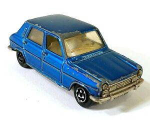 Majorette No 234 Simca 1100 TI 1/60 France Vintage Toy Car Diecast M122