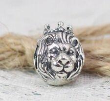 Pandora S925 ALE King of the Jungle Lion Charm - 791377 + Tissue & Pop-up Box