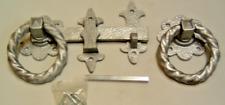 New listing Ornamental ring latch heavy duty driveway wooden gates fencing stables garden