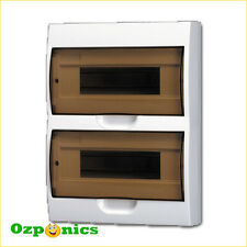 Surface Mounted 24 pole module switchboard Plastic Enclosure Load Center