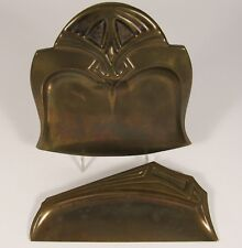 Vintage ROYAL ROCHESTER Art Nouveau Dinnerware Brass Table Crumber