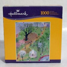 A Day in the Park 1000 Piece Jigsaw Puzzle 20 x 24 New Sealed Hallmark Hasbro