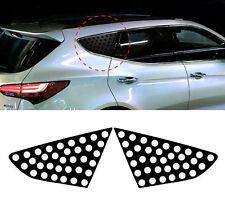 4D Carbon Black C Pillar Mask Sticker 2p For 2013-2015 Hyundai Santa Fe SPORT