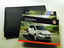 VAUXHALL ZAFIRA Owner Handbook Manual Pack Genuine New