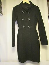 coat miss sixty collection wool black size S