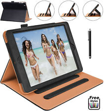 Genuine Leather TAN Smart Stand Case Cover For Apple iPad 10.2 AIR 4 PRO 11 2021