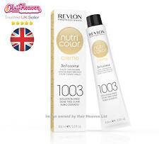 Revlon Professional Nutri Color Creme 1003 Golden Blonde 100ml TUBE 3 in1 Colour