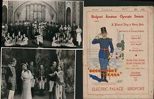 More details for bridport amateur operatic society 1939 ;good-night vienna'  + photos j1.607