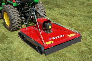 WTM110 - Winton Topper Mower - 1.1m Wide - For Compact Tractors