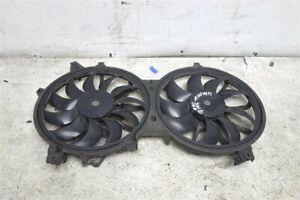 2009-2013 Infiniti G37 Auto Trans Radiator Cooling Fan Motor Shroud 21481-Jk000