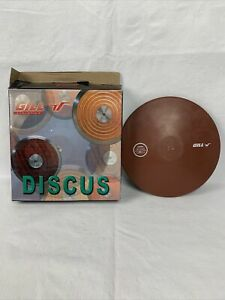 Gill Athletics 2.0 Kilo Collegiate Rubber Indoor Discus