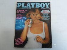 PLAYBOY NOVEMBER 1977 BUNNIES OF '77 RITA LEE SEX IN CINEMAS (740)
