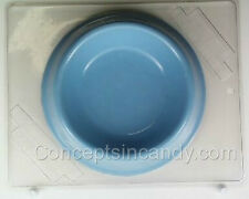 LARGE BOWL CLEAR PLASTIC CHOCOLATE CANDY MOLD AO124
