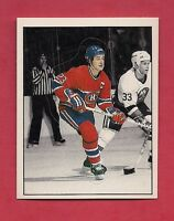 RARE 1987 CANADIENS  # 53 BOB GAINEY ACTION  STICKER CARD