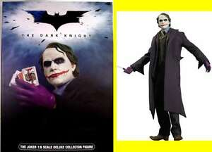 THE JOKER 1/6 Scale Dark Knight  COLLECTOR FIGURE Amricons