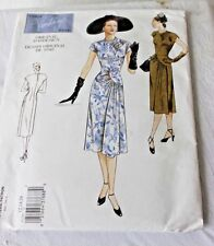 Vintage Vogue Sewing Pattern Women's 1940's Dress Sizes 12-14-16