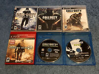 Playstation 3 Ps3 Call Of Duty Lot Of 6 Modern Warfare 2 3 Black Ops World War