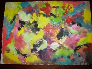 Original Acrylic  Artwork -  Abstract