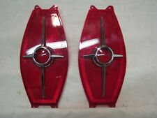 Pair of 1965 FORD FAIRLANE TAIL LIGHT LENSES in EXCELLENT CONDITION