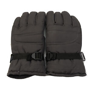 """THINSULATE 40 GRAMS INSULATED MENS GLOVES GRAY ONE SIZE FITS MOST """"THE GLOVE"""""""