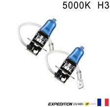 2x H3 Douille LED Ampoule Bulb Lumière Blanc Bright 55W Pour Voiture éclairage