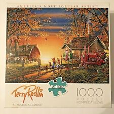 Buffalo Games Jigsaw Puzzle 1000 Pieces Morning Surprise Terry Redlin Complete