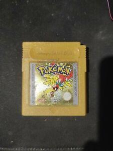 POKEMON VERSION OR FR - Nintendo Game Boy -  1999     -  hs ? Ne démarre pas