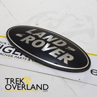 Genuine Land Rover Grill Badge Black & Silver DAG500160