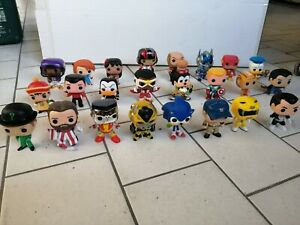 FUNKO Pop Collection Lotto 24 Figure Disney Marvel NFL Movie Sega Star Wars