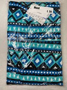 LuLaRoe Maxi Skirt Size Large 28